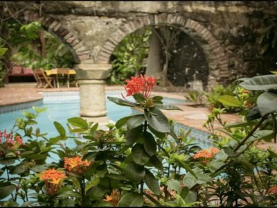 Photo for 8 Bedroom Luxury Colonial Mansion in the Walled City with Pool and Rooftop