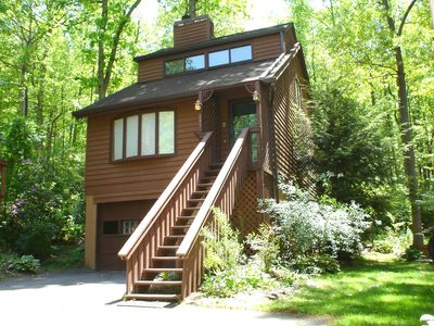 Photo for DREAM CHALET: HotTub/King&Quens/Jacuzzi/FP/Sunrm/WiFi/Massage Chair/Kid Friendly
