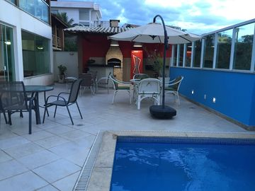 Beautiful House in Meaípe, Guarapari, 7 suites, the Best Beaches of Side
