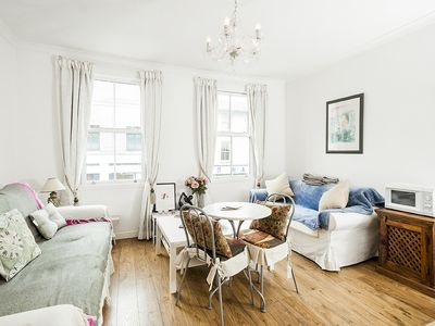 Photo for New Super 1 Bedroom Flat in the Heart of Greenwich - One Bedroom Apartment, Sleeps 3