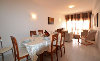 Photo for 3 bed apt just about 400mts from the Beach and City Center