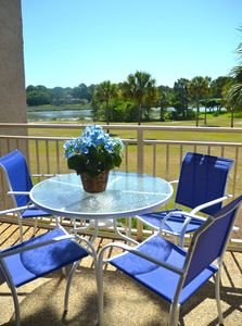 Photo for Enjoy sunrises over Braddock Cove from this balcony