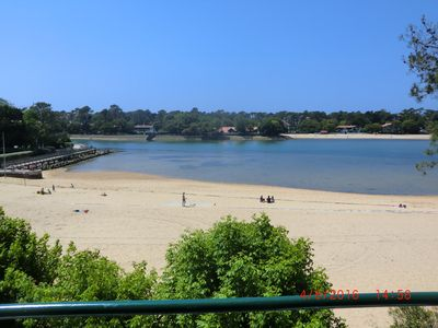 Photo for Hossegor, overlooking lake, very nice apartment of 50m2