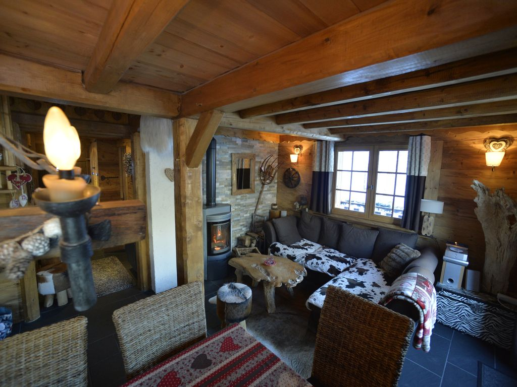 Chalet Sandettie Charm Sauna Prox Center And Tracks Parking Deco Bois Cosy Chatel