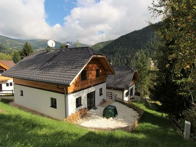 Photo for Beautiful chalet next to the piste with private sauna in the house