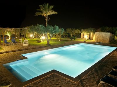 Photo for Large Villa with pool in Sicily between Marsala and Trapani 45 minutes from Palermo