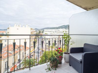 Photo for Modern with two terraces with views and air-conditioned bedroom