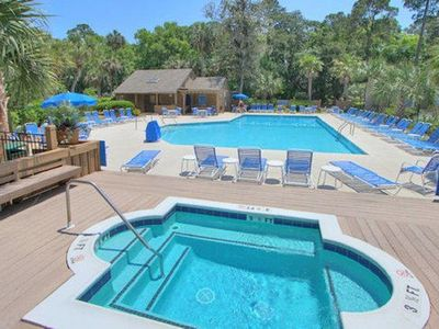 Photo for Hilton Head Townhouse   Free Golf (Cart Fee Only)