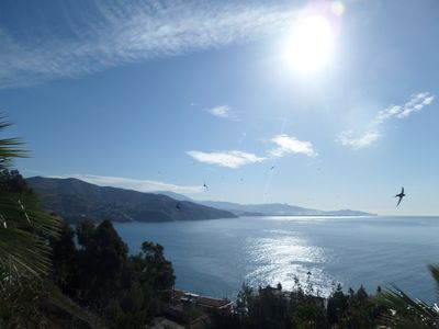 Photo for Apartment in a beautiful, quiet location with stunning panoramic views across the sea