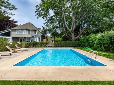 Photo for Newly Renovated In Edgartown Village With Pool