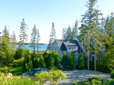 Photo for Luxury Home with Spectacular Ocean Views in quiet setting near Acadia Nat'l Park
