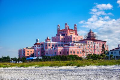 View of the Don CeSar 1 Block from your Condo, take a walk on down or head south and visit Pass-A-Grille Beach.