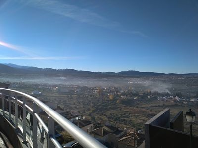 Photo for Chalet-Mirador in Granada & 360º views to Sierra Nevada, the fertile plain and Granada