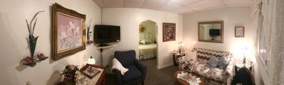 Photo for Apartment with convenience, shops, restaurants, gas, parking.