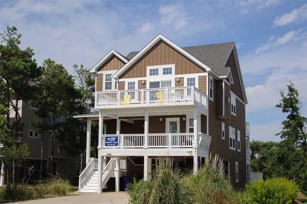 Nags Head House For Rent With Private Soundside Beach