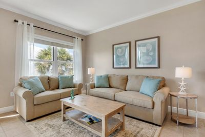 Unit has amazing views with all new great room furniture.