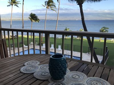 Photo for Maui SAVINGS! Prime Ocean Front/ Remodeled 2 BR/BA and AC*Maalaea Kai 307*