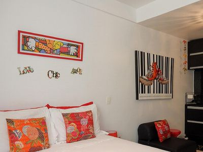 Photo for Loft Saint Roman 2 - 3 blocks from the beach and 150 meters from the subway!