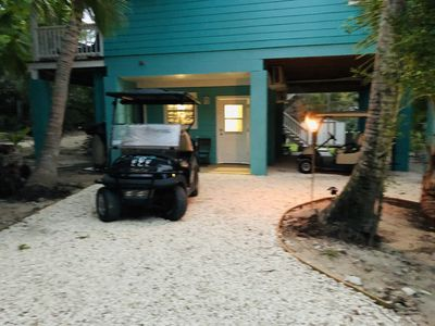 Photo for STEPS FROM THE BEACH One Bedroom - Full Kitchen, Backup Generator