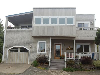 Photo for Panoramic Ocean View with class & short path to beach - minutes to Cannon Beach!