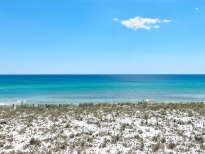Photo for Beachview 2, Gulf Front Townhome, Directly OnThe Bch, 2-Car Garage, Amazing View