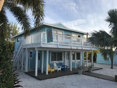 Seaside Sanctuary #2 is the ground floor unit of this beach front duplex.