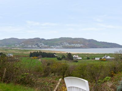 View of Portsalon from the garden of the property