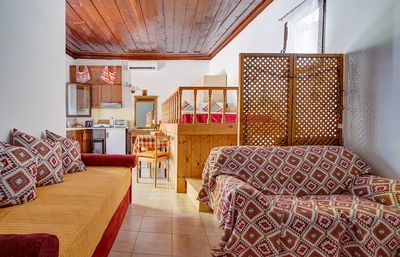 Photo for Traditional Mountain Village Studio, with seaviews and nearby beach