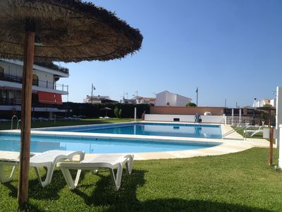 Photo for Three bedroom apartment in El Rompido ideal for families with children