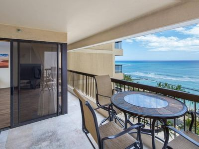 Photo for Steps from Waikiki Beach-Ocean View-Free Parking
