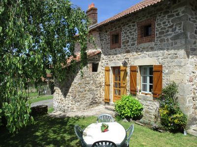 Photo for Bread Oven Cottage in the heart of the Limousin Countryside