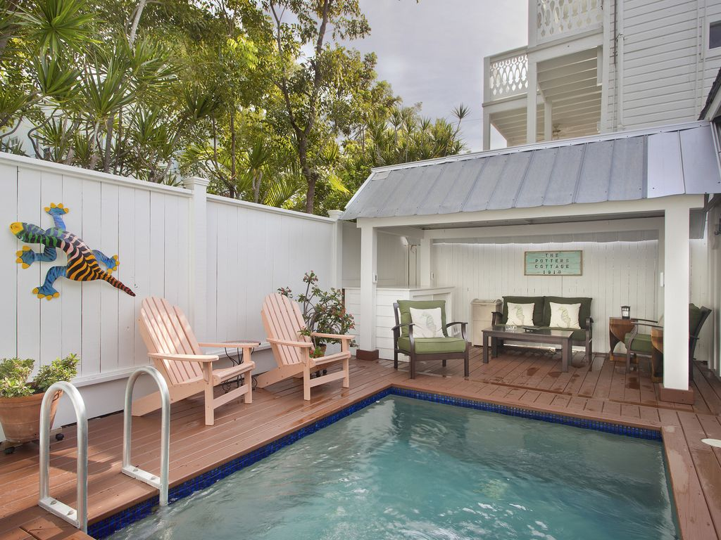 Potters Cottage Perfect Key West Home Private Pool 1 Block To Duval St