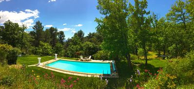 Photo for Coin de Paradis with pool near Aix en Provence!