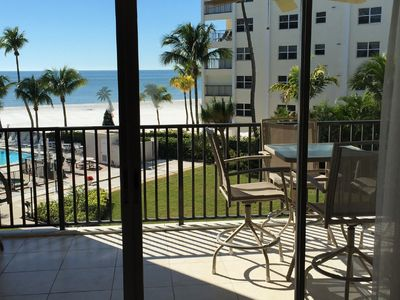 View from Inside the Condo onto the Lanai