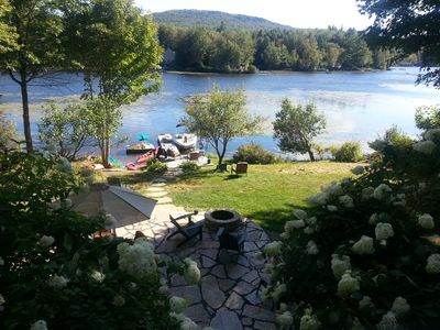 Special Country Luxury Waterfront Home on CleanWarm Crescent Lake, SunapeeRegion