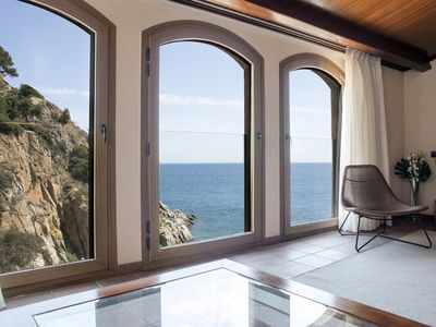 Photo for Luxury Rocamar Apartment, unique and exclusive front beach Tossa de Mar