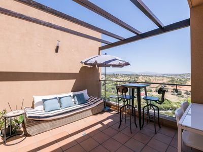 Photo for Luxurious Top Floor Apartment with Private Roof Terrace and Sea View 4/6 people