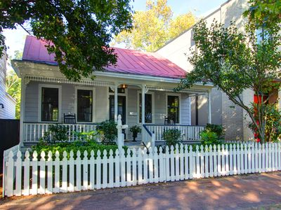Photo for White Pickett Fence Home on the Doorstep of Forsyth Park