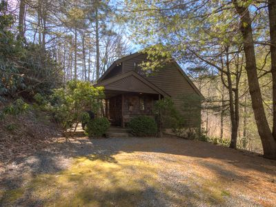Photo for Private Getaway Just off the Blue Ridge Parkway.