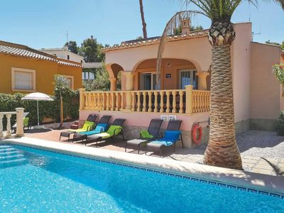 Photo for 3 bedroom Villa, sleeps 6 in Xàbia with Pool, Air Con and WiFi