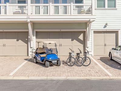 Photo for GOLF CART ~ 3 Bikes, Steps to ZERO ENTRY POOL! ~ Perfect Peace at Prominence