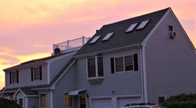 Photo for 8/11-18 Promo: Free add on Roofdeck 2BD Loft apt. Walk to beach. King bed MBR