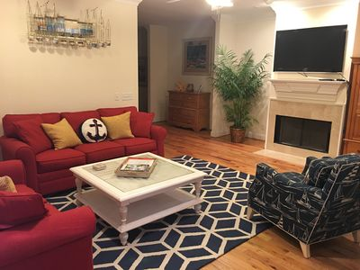 Photo for Beautifully Townhouse Just Steps Away from Beach and Pier