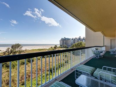 Photo for Oceanfront Oasis at Ocean Club 4206