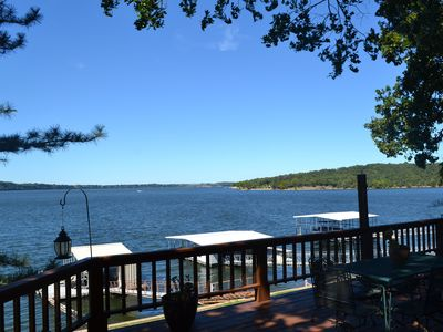Photo for Beautiful Grand Lake home on Drowning Creek - DISCOUNTS FOR 7 + NIGHTS!