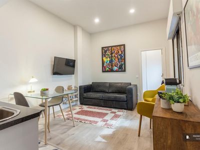 Photo for Friendly Rentals The Gran Via apartment in Madrid