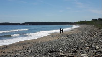 Hirtle's Beach -- a few minutes from the cottage!