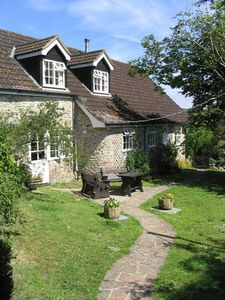 Photo for Dog friendly cottage set in private grounds and located in an Area of Outstanding Natural Beauty