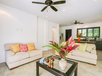 Photo for Ground-floor resort condo with great location near beach and dining