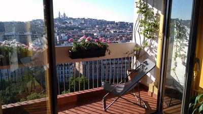 Photo for Apartment of 80m2 with exceptional view